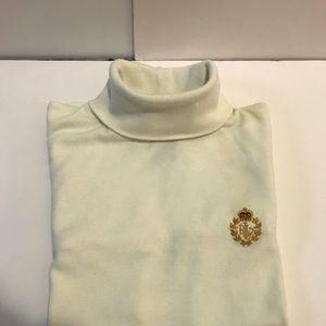 Off white vintage  Ralph Lauren Turtle neck